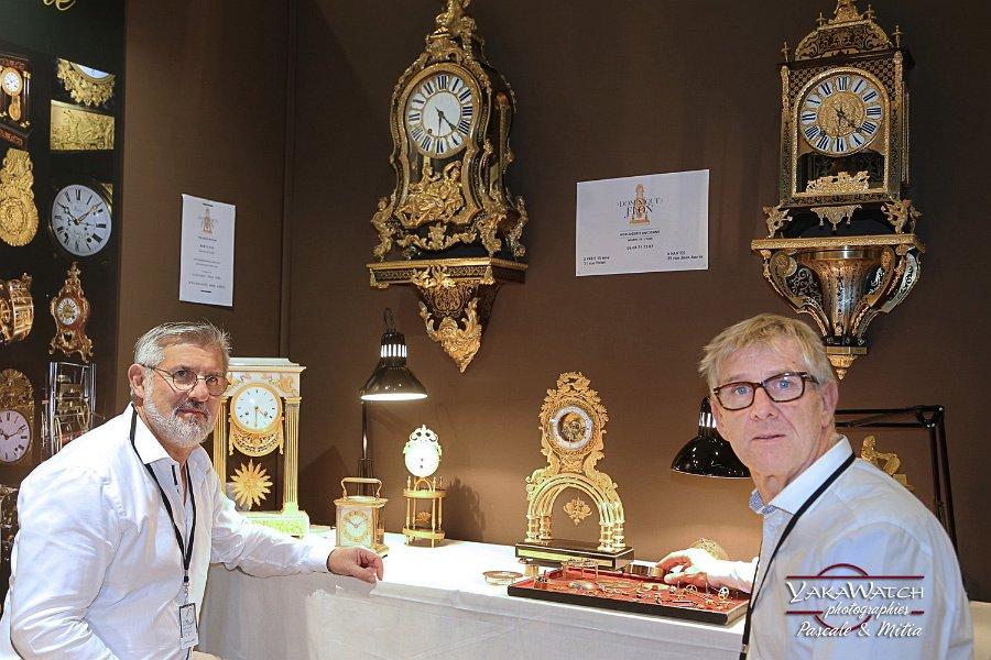 Dominique & Frédérique Flon horlogers • Salon du Patrimoine Culturel Paris 2018