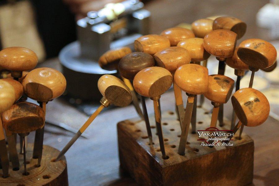 Les échoppes, outils de gravure à la main