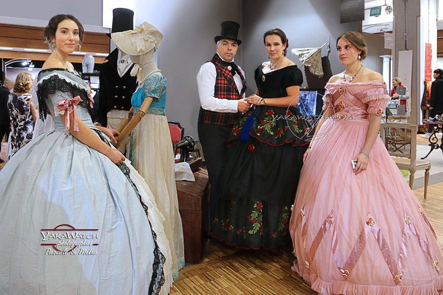 Costumes du 19ème siècle au Salon du Patrimoine