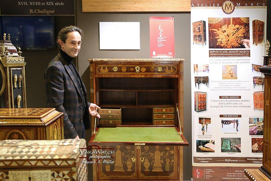Benoît Marcu - Restauration mobilier ancien • Salon du Patrimoine Culturel Paris 2018