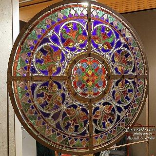 Vitrail d'église, vitraux d'art Patrick Forfait