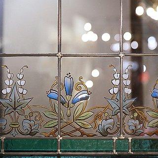 Vitrail art nouveau, vitraux d'art Patrick Forfait
