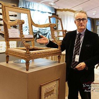 Henry-Bertrand Collet,expert en mobilier du 18ème • Salon du Patrimoine Culturel Paris 2018