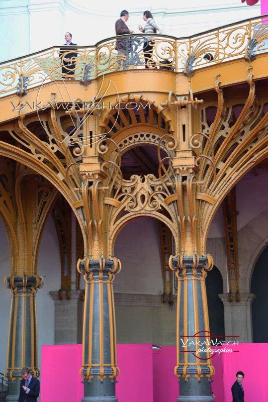 Détail d'architecture du Grand Palais à Paris - Photo Yakawatch Evènementiel