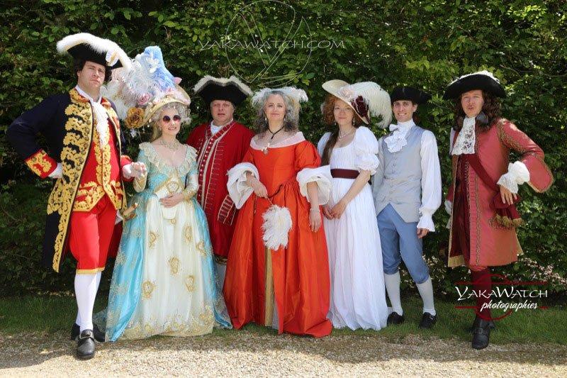 Journée Grand Siècle et concours d'élégance à Vaux le Vicomte