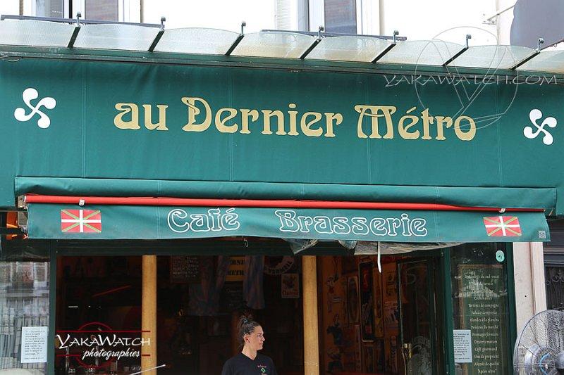 Au dernier métro, bistrot basque à Paris