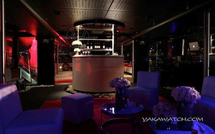 Restaurant, brasserie, traiteur, bar - Salon privé - Paris Boat Prestige