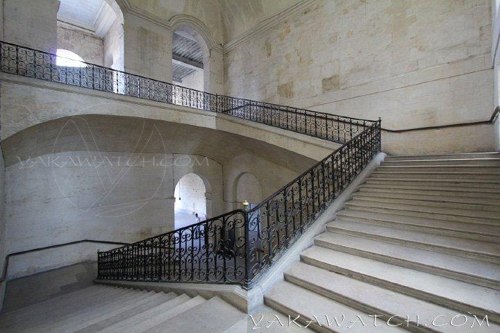 Escalier d'honneur aux Invalides