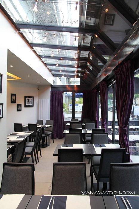 Restaurant, brasserie, traiteur, bar - Terrasse couverte du Cozy Montparnasse