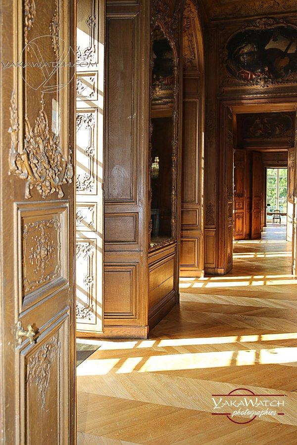 Le château de Rambouillet - boiseries