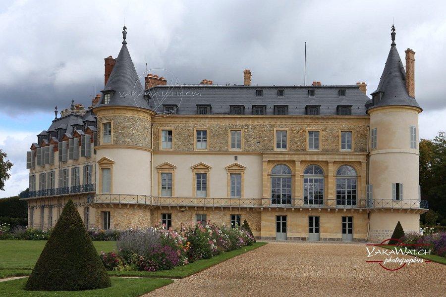 Le château de Rambouillet après restauration