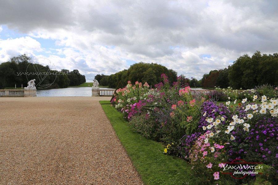 Parc et jardins à la française au château de Rambouillet