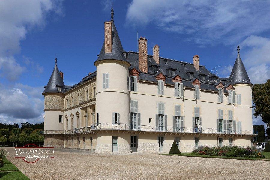Le château de Rambouillet lors de la réouverture au public