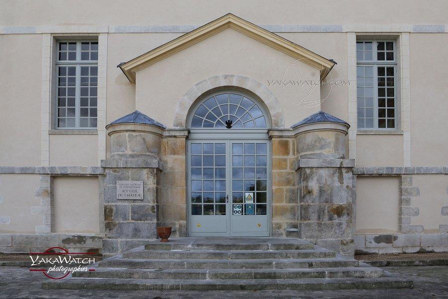 L'entrée du château de Rambouillet