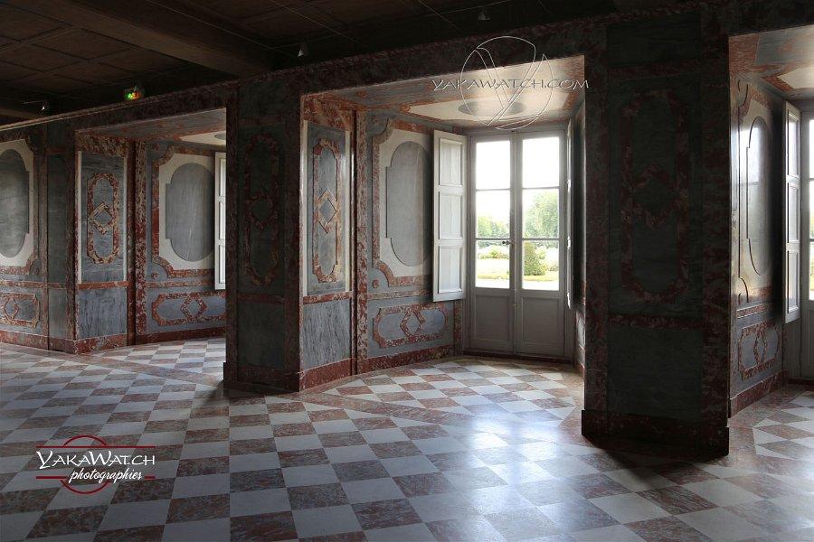 La salle des marbres du château de Rambouillet