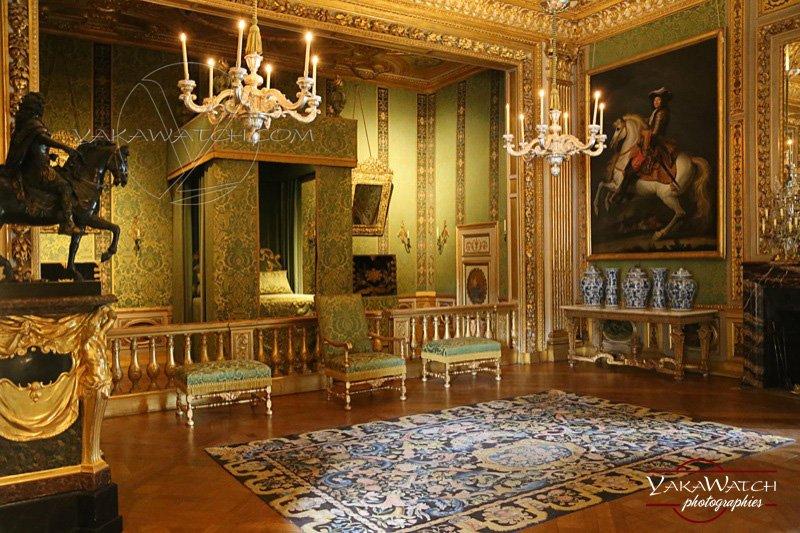 Vaux-le-Vicomte - La chambre du roi