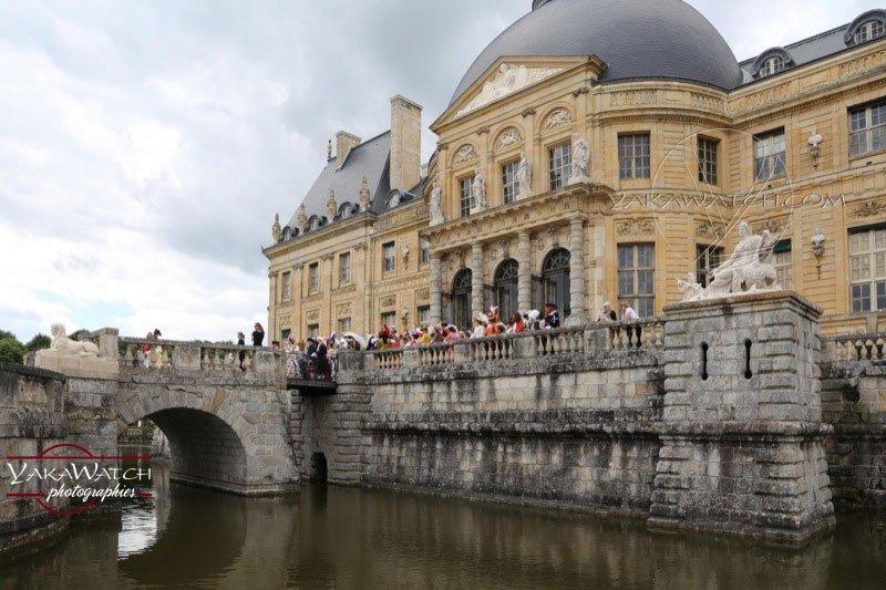 Le château et les douves - Vaux-le-Vicomte