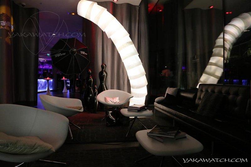 Le lobby, à la décoration design et confortable