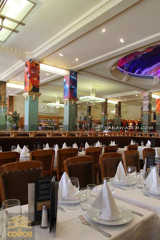 Restaurant, brasserie, traiteur, bar - La Coupole - Paris Montparnasse Tables et salle