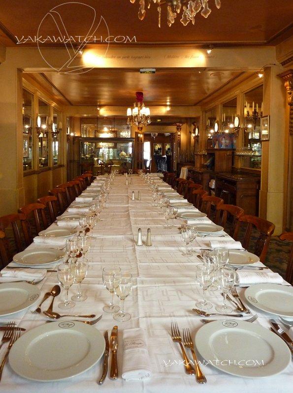 Restaurant, brasserie, traiteur, bar - Table de banquet - Le Procope - Paris