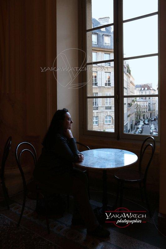 Par la fenêtre… Théâtre de l'Odéon