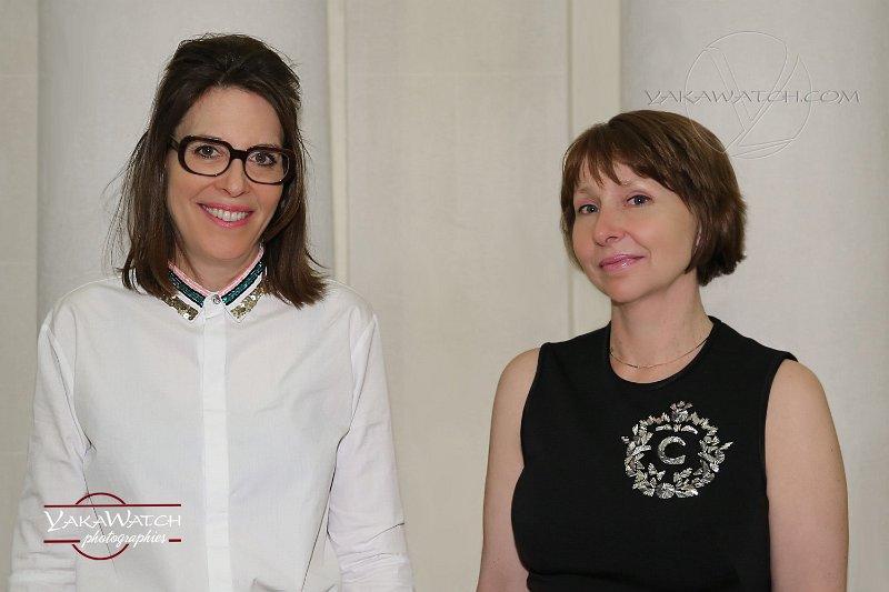 ELSSCollection - Pascale Guasp fondatrice et Susan Lewis directrice artistique - Photo Yakawatch