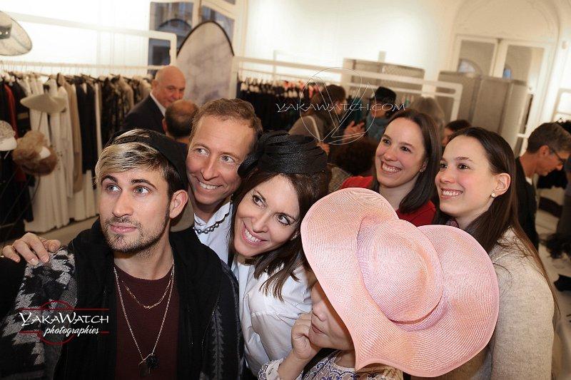 Selfie dans le showroom d'ELSSCollection