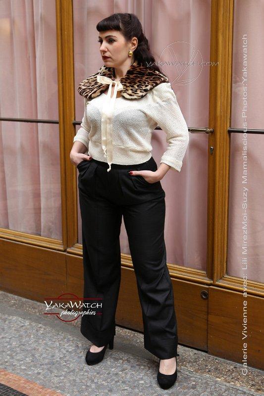 So frenchie par Suzy Mamaliscious - Pantalon Pachouco