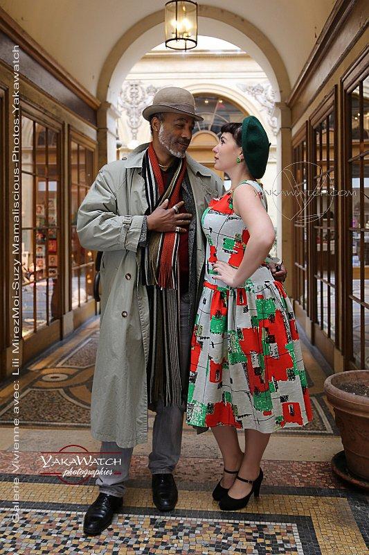 So frenchie par Suzy Mamaliscious - Robe Skinny Minnie