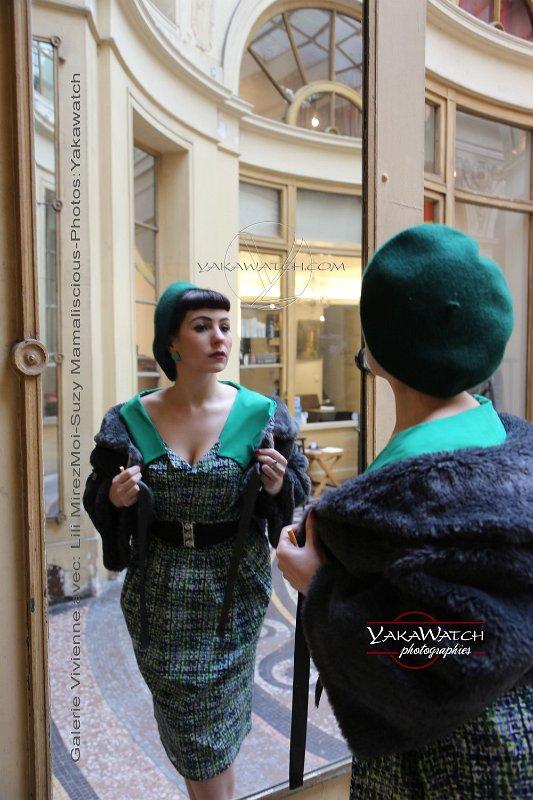 So frenchie par Suzy Mamaliscious - Robe années 50