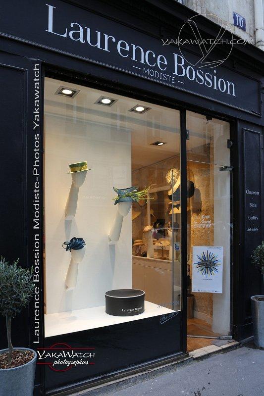 Boutique de modiste de Laurence Bossion
