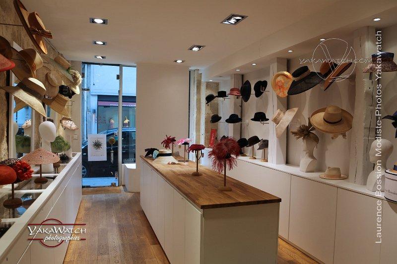 Dans la boutique-atelier de Laurence Bossion
