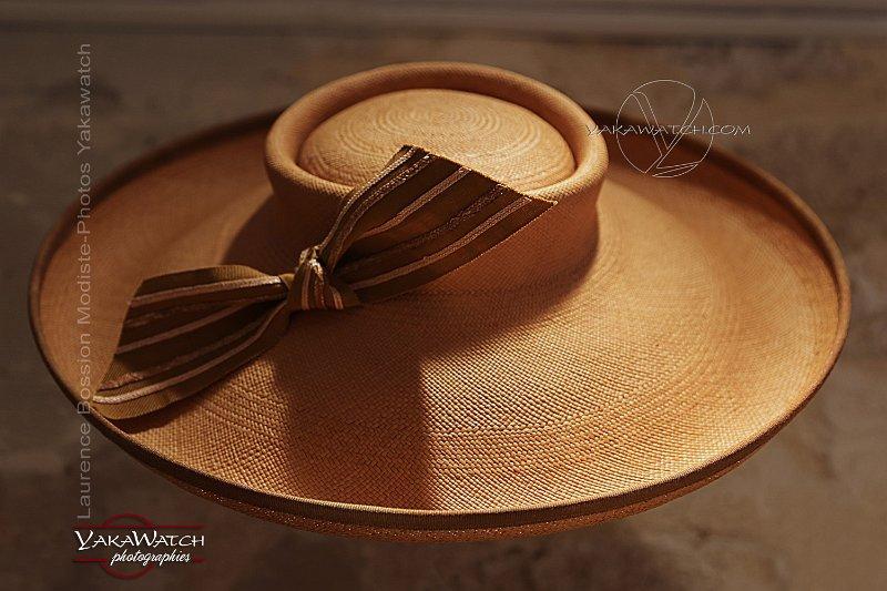 Laurence Bossion, modiste - Chapeau de paille