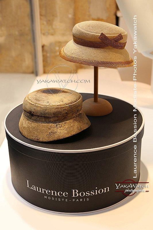 Laurence Bossion, modiste - De la forme au chapeau