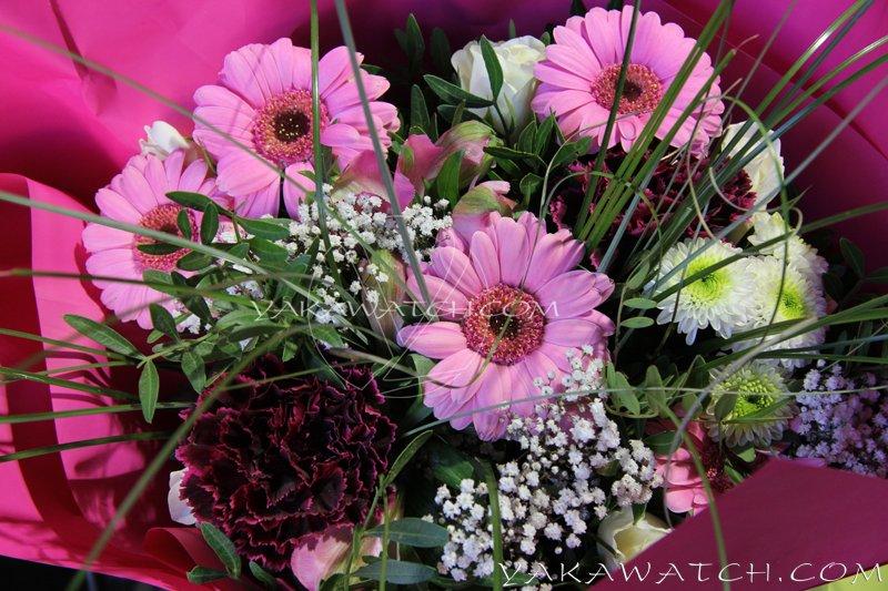 A la une - Bouquet de fleurs