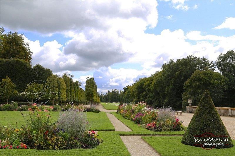 Les jardins à la française du château de Rambouillet