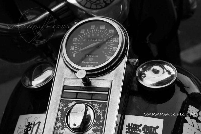 Harley Davidson, l'autre passion de Bernard Soufflet