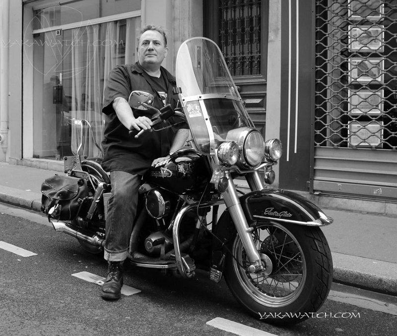 L'autre passion de Bernard Soufflet : la moto