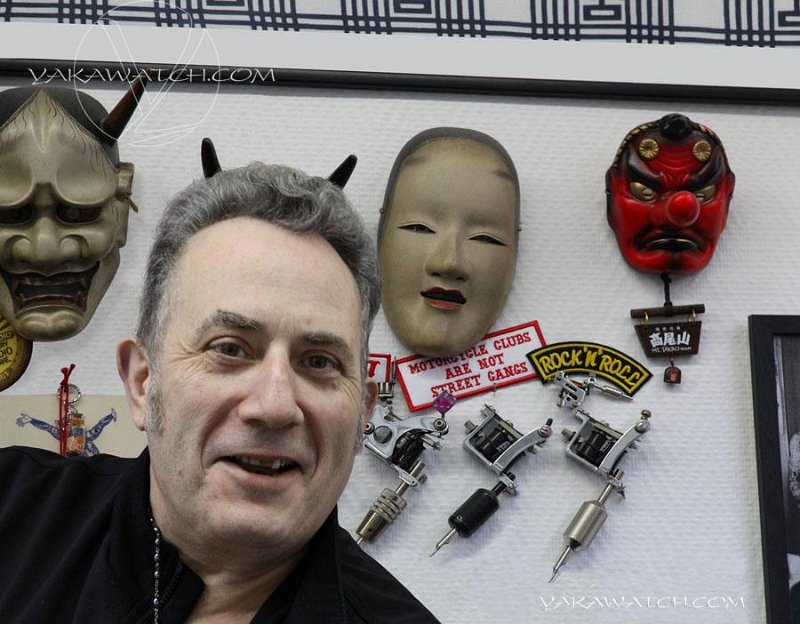 Bernard Soufflet, fervent admirateur de l'art japonais