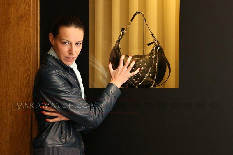 Envie de shopping - Sac Jean Paul Gaultier - Mannequin Estelles Virepinte