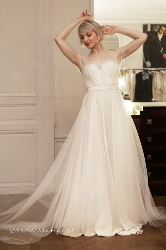 Wedding dress Fanny Liautard Fashion Paris