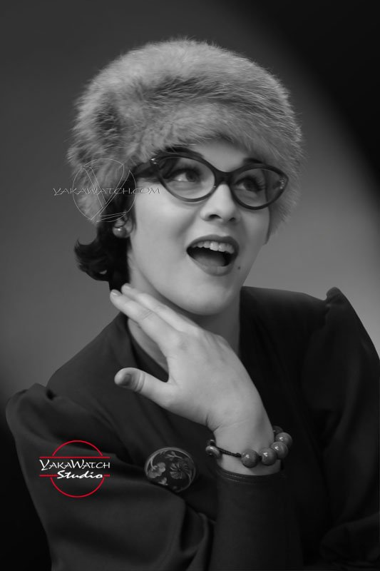 Leel ofWood chapeau renard - Robe Suzy Mamaliscious