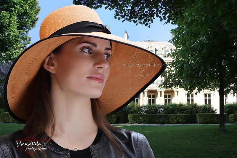 Sofia chapeau Laurence Bossion