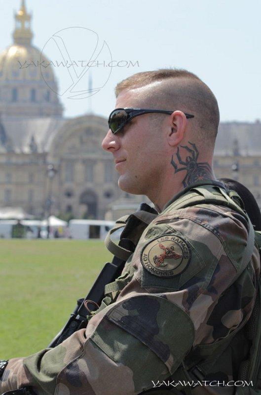 militaire tatouage