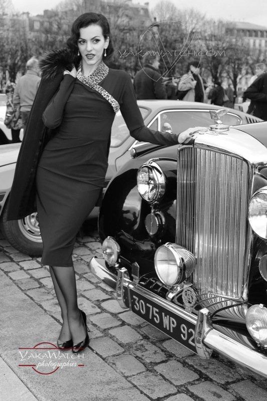 Concours d'élégance en Rolls