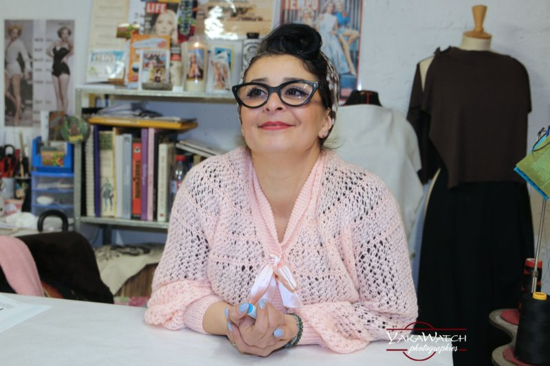 Suzy Mamaliscious, styliste hot couture