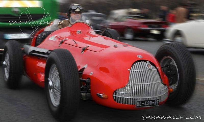 13ème traversée de Paris hivernale | Alpha Romeo 158