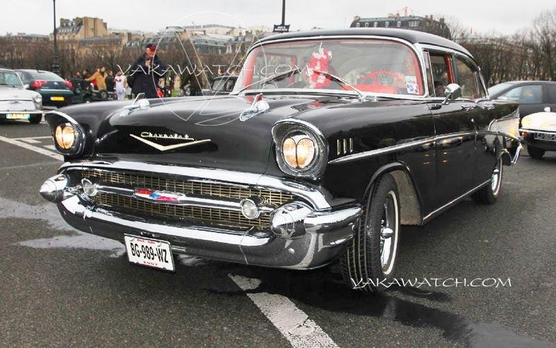 13ème traversée de Paris hivernale | Chevrolet Impala 1957