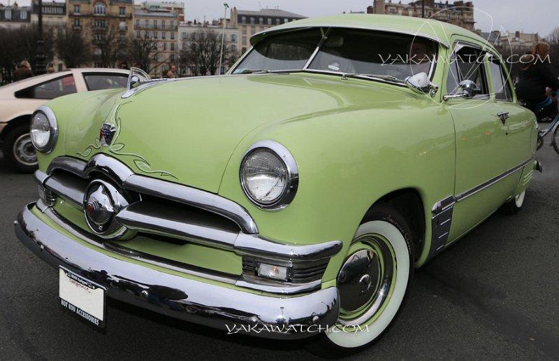 13ème traversée de Paris hivernale | Ford Deluxe Tudor Sedan 1950