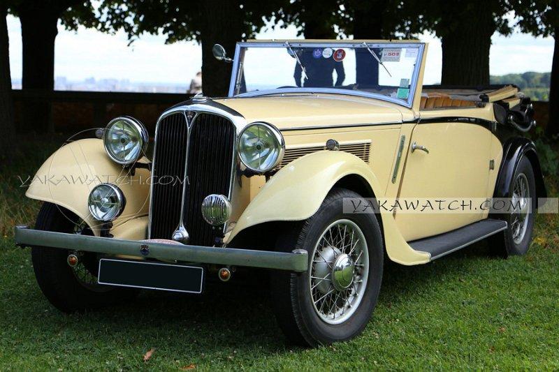 Rover 14 DHC 1936 - 7ème traversée de Paris estivale